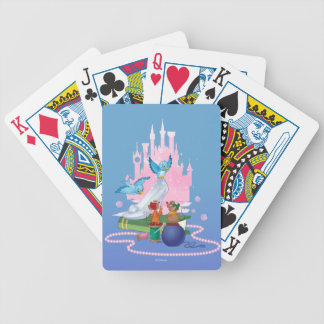Cinderella | Glass Slipper And Mice Bicycle Playing Cards