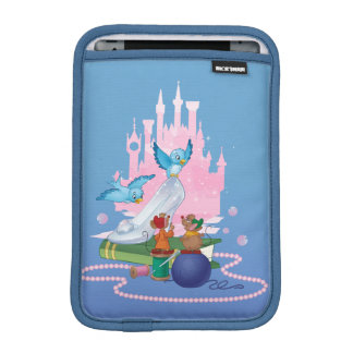 Cinderella | Glass Slipper And Mice iPad Mini Sleeve