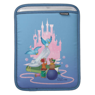 Cinderella | Glass Slipper And Mice iPad Sleeve