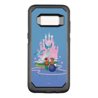 Cinderella | Glass Slipper And Mice OtterBox Commuter Samsung Galaxy S8 Case