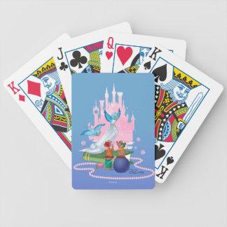 Cinderella   Glass Slipper And Mice Poker Deck