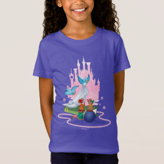 Cinderella | Glass Slipper And Mice T-Shirt