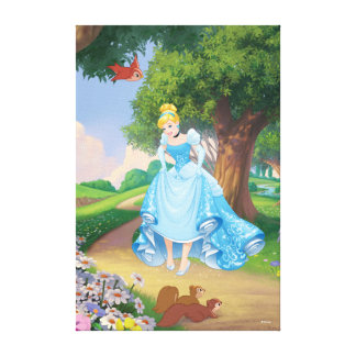 Cinderella | Glass Slippers Canvas Print
