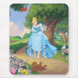 Cinderella | Glass Slippers Mouse Pad