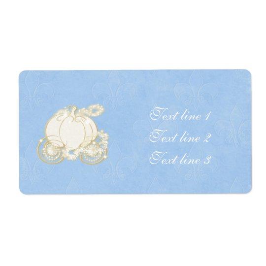 Cinderella Gold Carriage Princess Blue Label