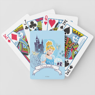 Cinderella - Gracious Heart Bicycle Playing Cards