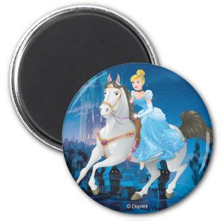 Cinderella   Have Courage 2 Inch Round Magnet