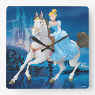 Cinderella | Have Courage Square Wall Clock