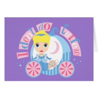 Cinderella | I Don't Do Curfew Card