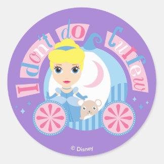 Cinderella | I Don't Do Curfew Classic Round Sticker