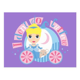 Cinderella | I Don't Do Curfew Postcard