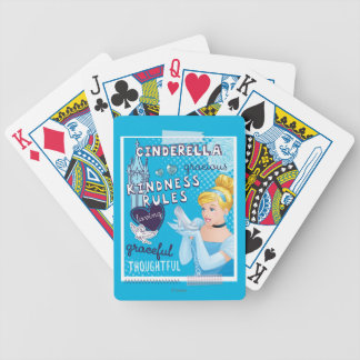 Cinderella - Kindness Rules Bicycle Playing Cards