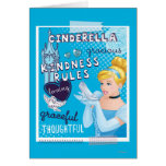 Cinderella - Kindness Rules Greeting Card
