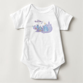 Cinderella Leaving the Ball Baby Bodysuit