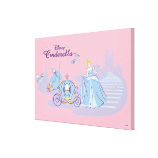 Cinderella Leaving the Ball Canvas Print