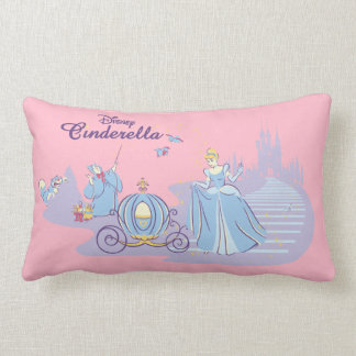 Cinderella Leaving the Ball Lumbar Pillow