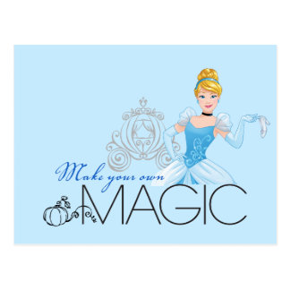 Cinderella | Make Your Own Magic Postcard