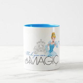 Cinderella | Make Your Own Magic Two-Tone Coffee Mug