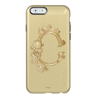Cinderella Ornate Golden Pattern Incipio Feather® Shine iPhone 6 Case