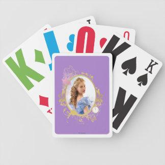 Cinderella Ornately Framed Poker Deck