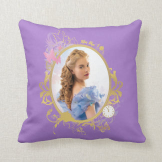 Cinderella Ornately Framed Throw Pillow