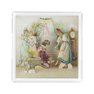 Cinderella Perfume/Small Serving Tray