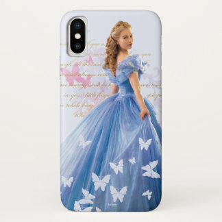 Cinderella Photo With Letter iPhone X Case