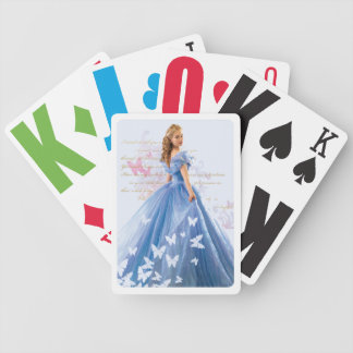 Cinderella Photo With Letter Poker Deck