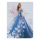 Cinderella Photo With Letter Poster