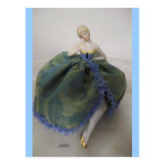 Cinderella Pincushion Postcard