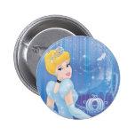 Cinderella Princess Pinback Button