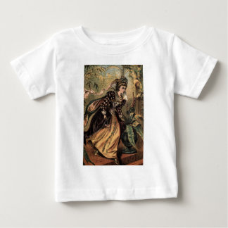 Cinderella Running Away from the Ball Baby T-Shirt