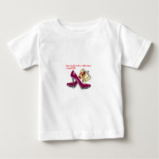 Cinderella shoes and crown transparent2.png baby T-Shirt
