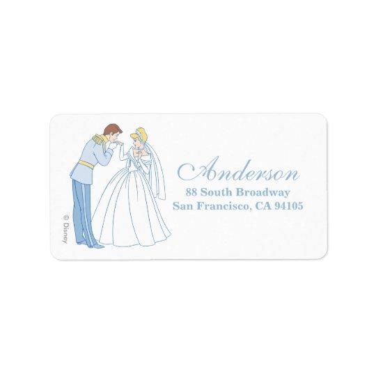 Cinderella Wedding   Classic Label