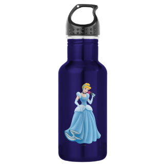 Cinderella with Flower 532 Ml Water Bottle