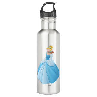 Cinderella With Gus & Jaq 710 Ml Water Bottle