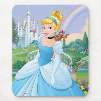 Cinderella With Gus & Jaq Mouse Pad