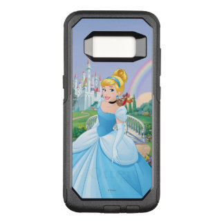Cinderella With Gus & Jaq OtterBox Commuter Samsung Galaxy S8 Case
