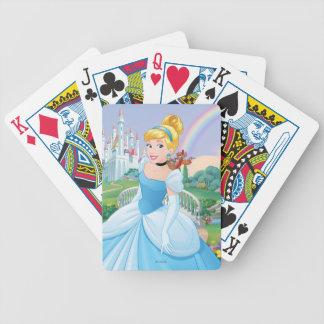 Cinderella With Gus & Jaq Poker Deck
