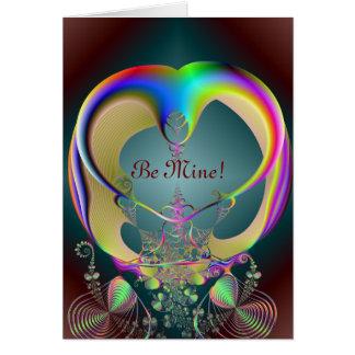 cinderellas carriage, Be Mine! Card