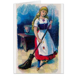 Cinderella's Chores Card