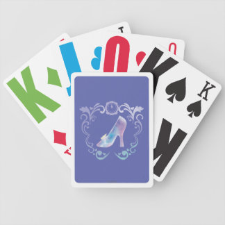 Cinderella's Glass Slipper Bicycle Playing Cards