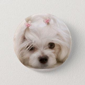 Cindy 2 Inch Round Button