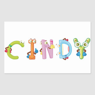 Cindy Sticker