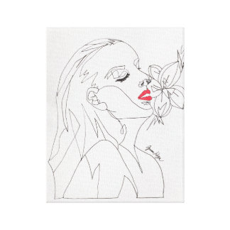 Cindy-Take my breath away Canvas Print