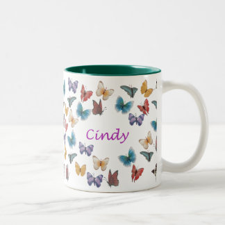 Cindy Two-Tone Coffee Mug