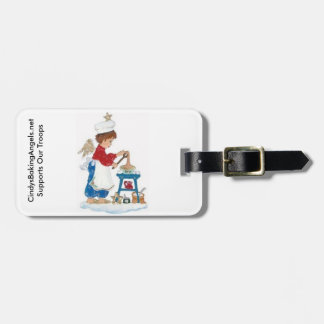 Cindy's Baking Angels Luggage Tag! Luggage Tag