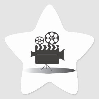 Cine Camera Star Sticker