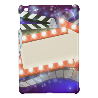 Cinema Film Arrow Sign Abstract Background iPad Mini Covers