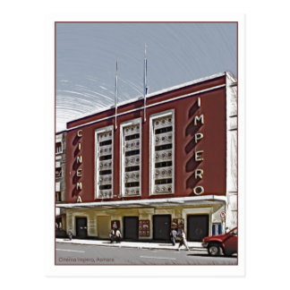 Cinema Impero, Asmara Postcard